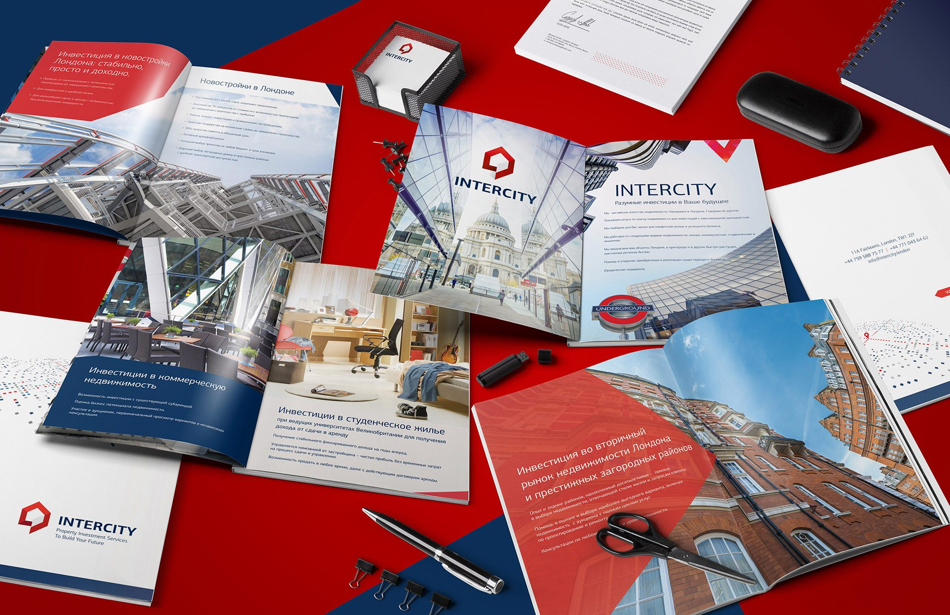 Presentation for real estate company London Intercity