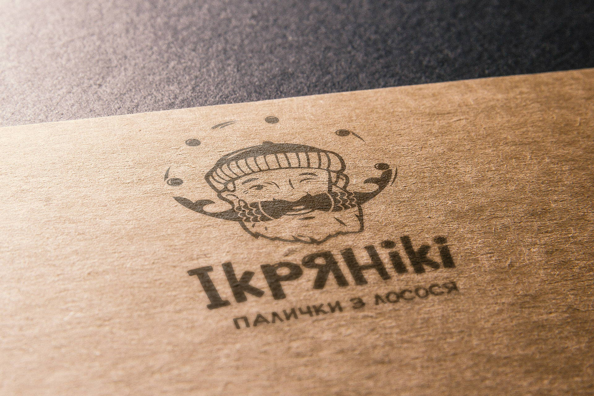 Development of the logo снеки