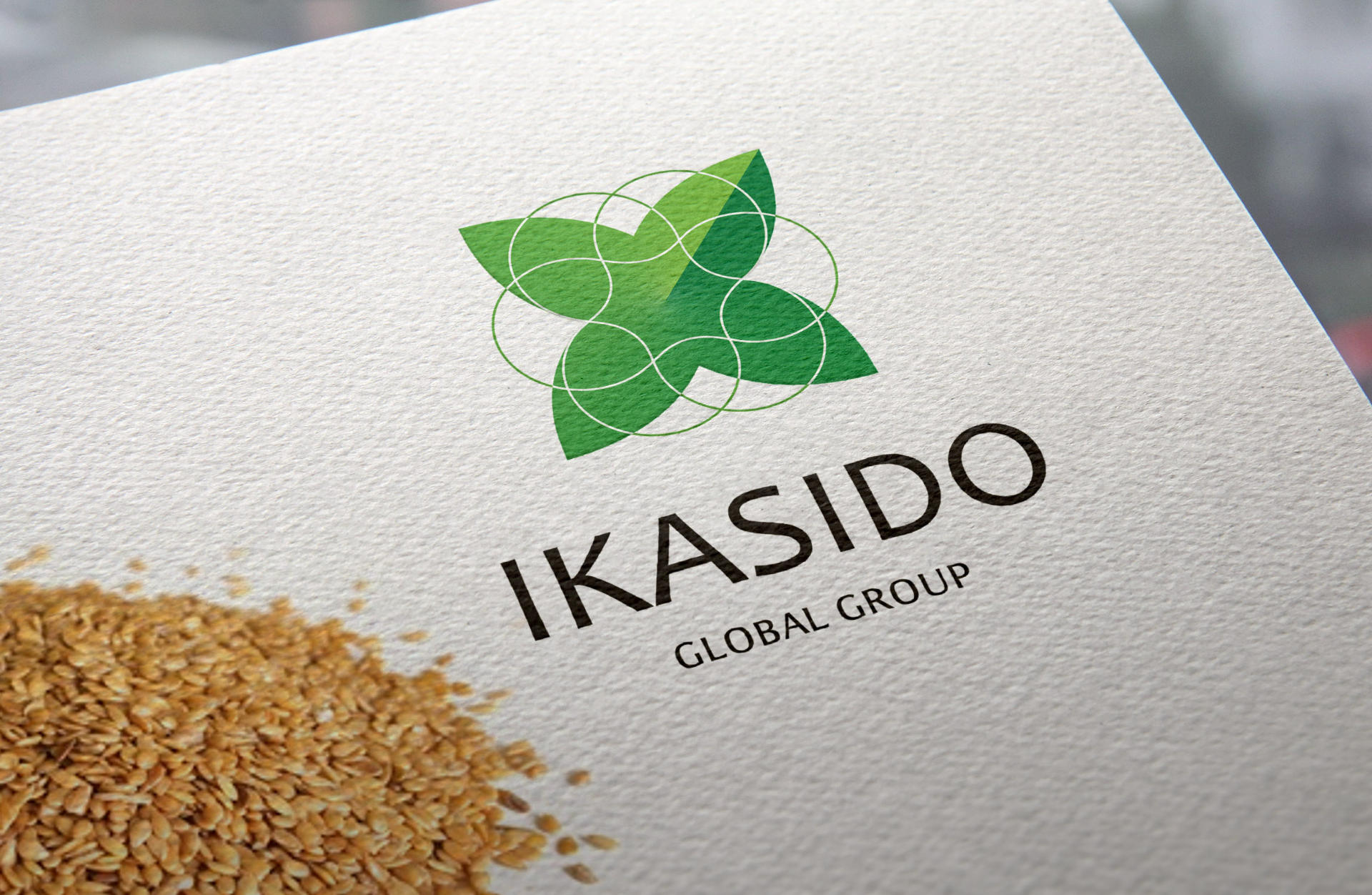 Logo for the agricultural company, Agro logo design