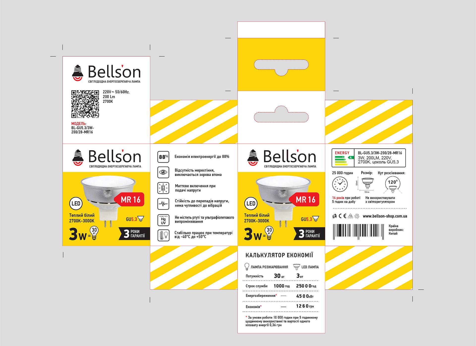 design упаковки для ламп