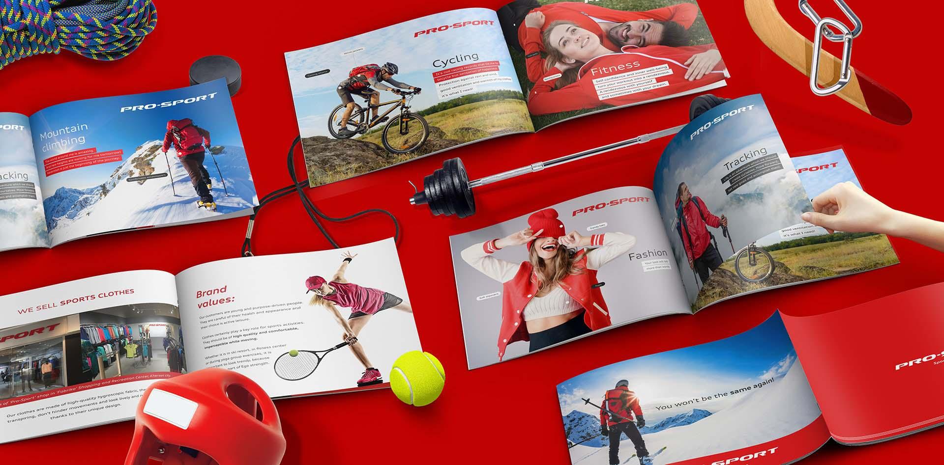 Pro Sport Company PDF presentation for the Trading Center
