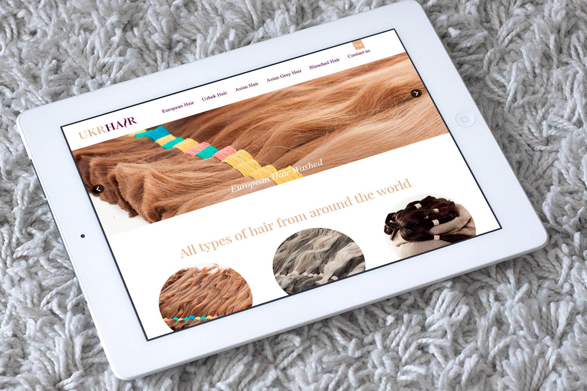 Дизайн and програмирование of the website
