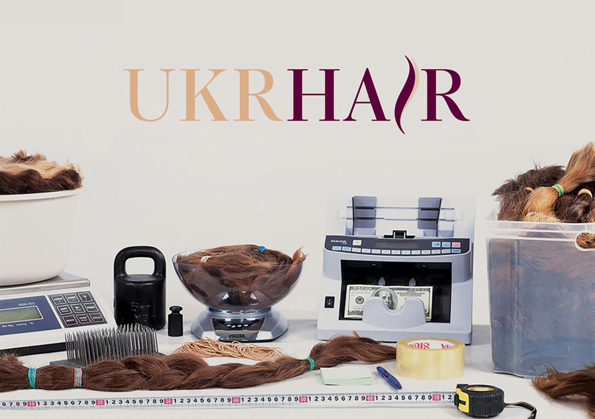 Дизайн логотипа для продажи волос