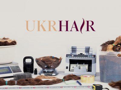 Продажа волос creating of the logo, Hair sales logo development