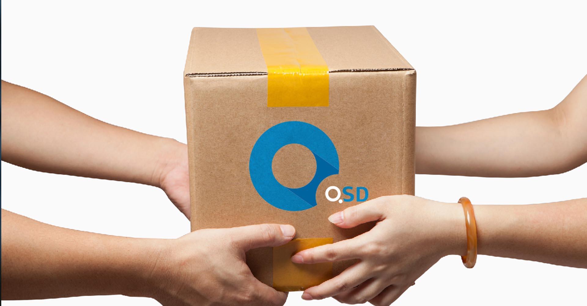design упаковки для службы доставки