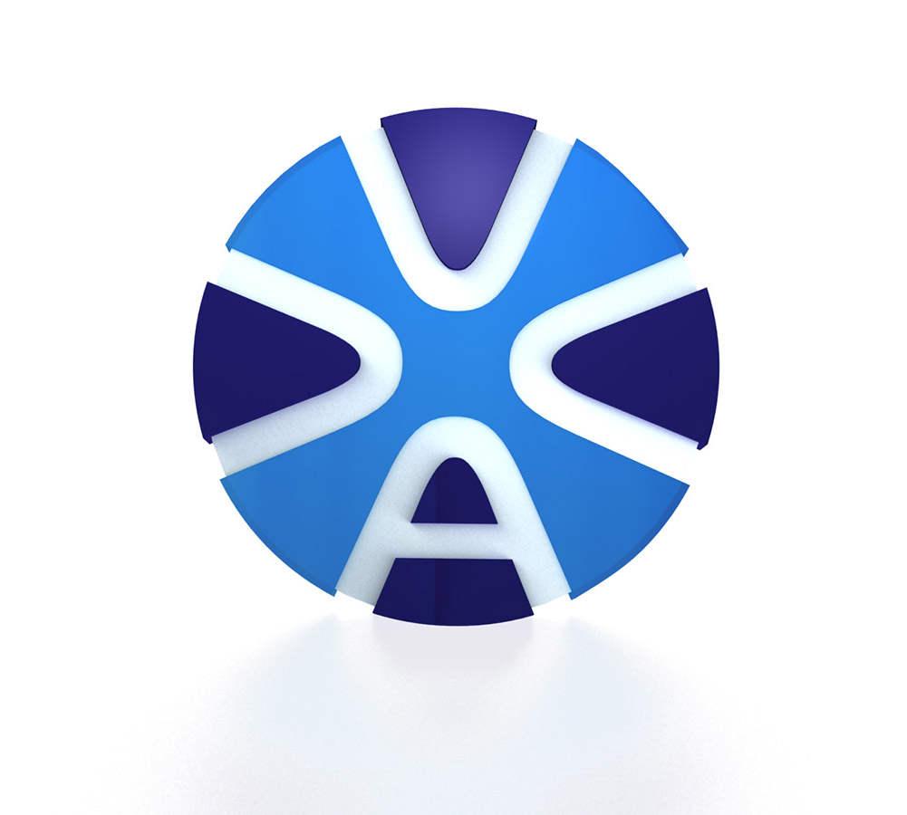 3d визуализация логотипа of the car company
