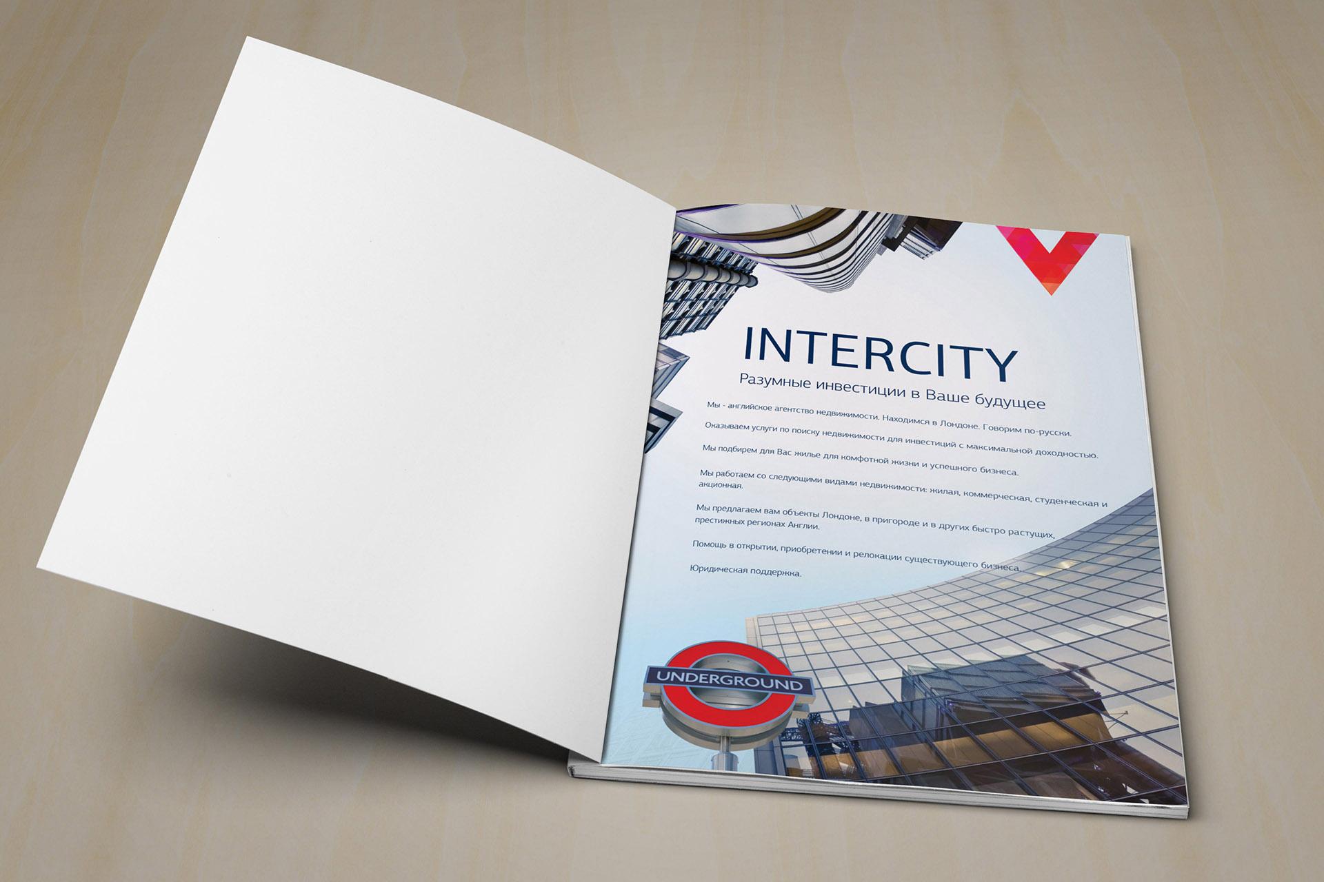 Дизайн of the brand book агентства недвижимости