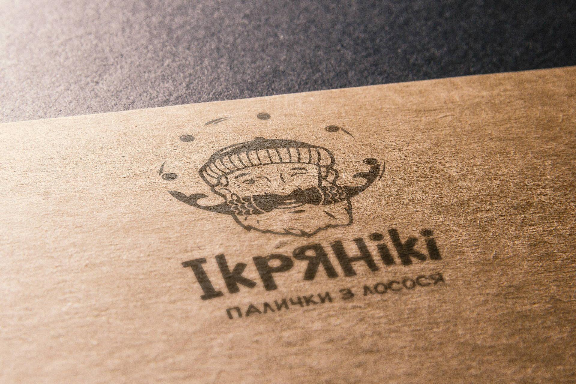 Development of the logo снеки