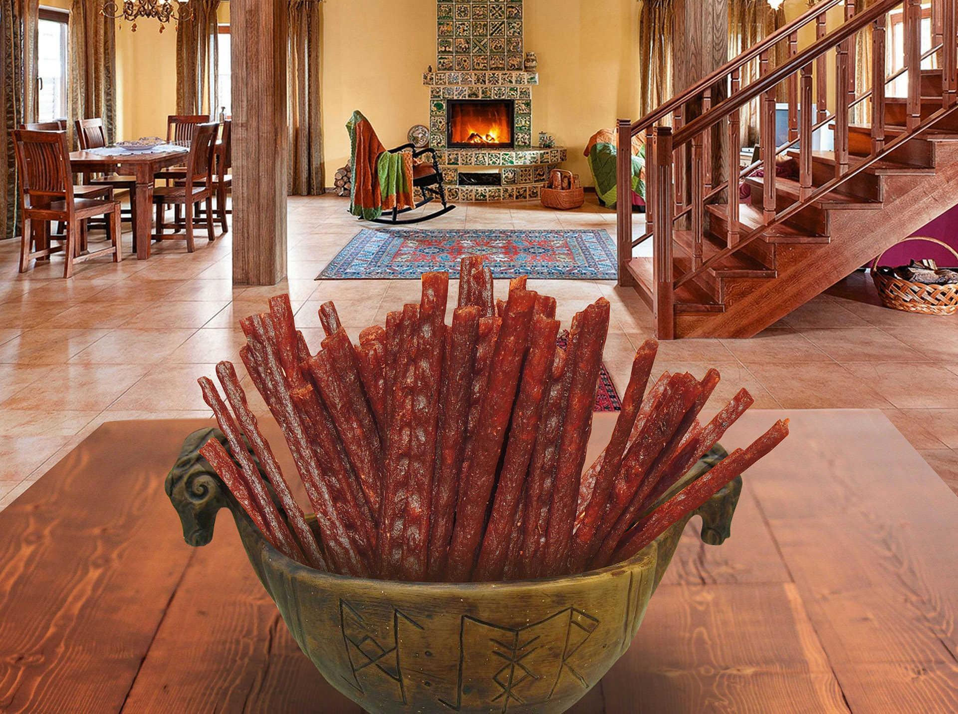 Снеки - палочки из лосося Snacks - Salmon Sticks