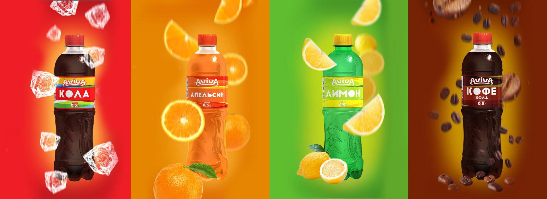Soda label design, design этикетки лимонада