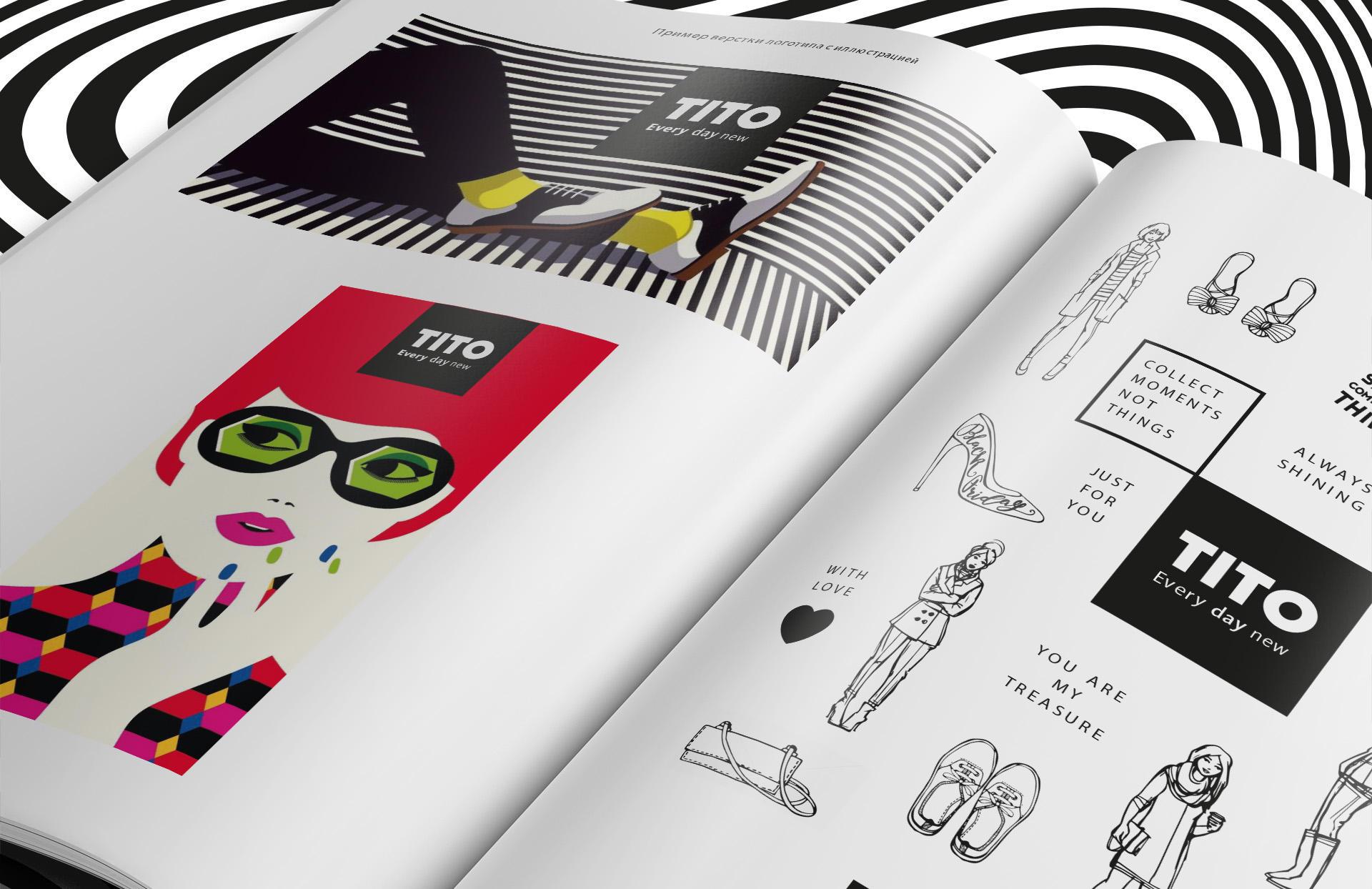 Clothing brand brandbook, brand book для бренда clothes