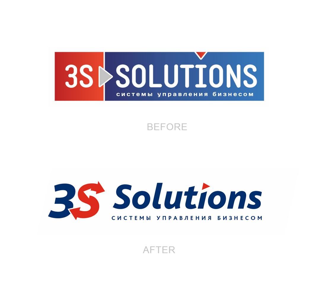 Реlogo design IT компании, IT company logo redesign