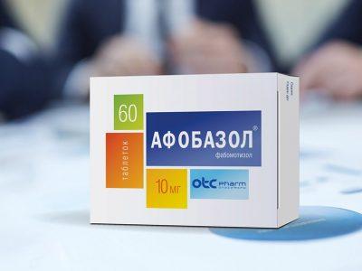 Development дизайна упаковки для фармацевтического продукта