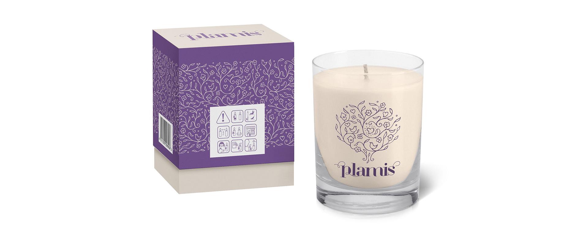 Дизайн упаковки для свечей, Candle packaging design