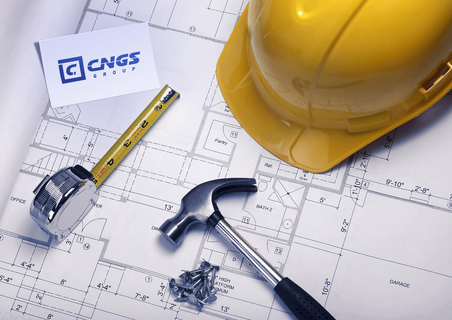 Реlogo design строительной компании