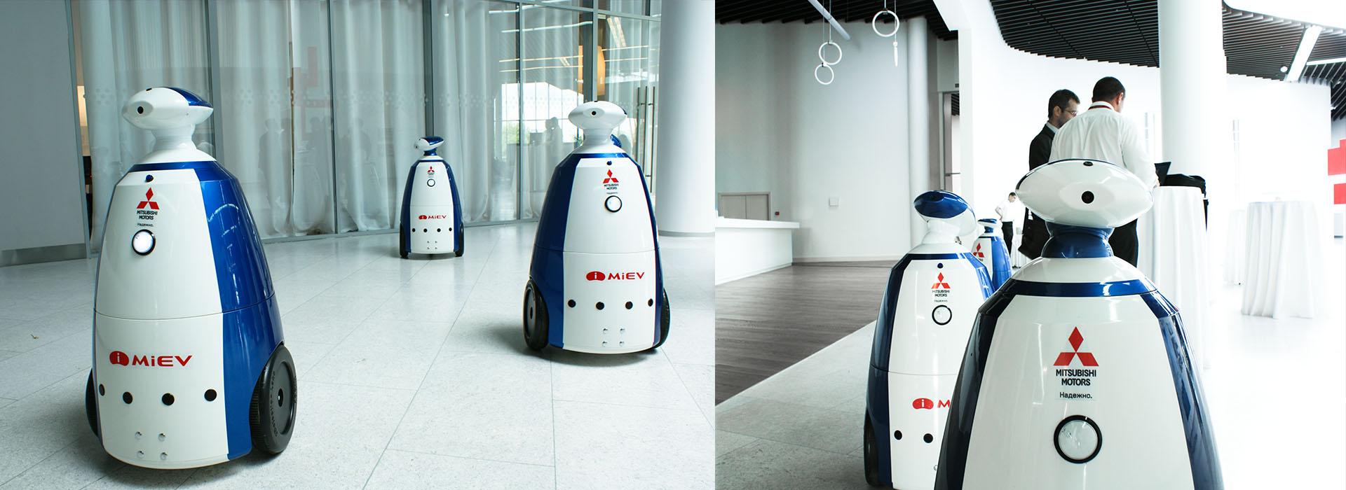 robotics production corporate identity, производитель робототехники logo