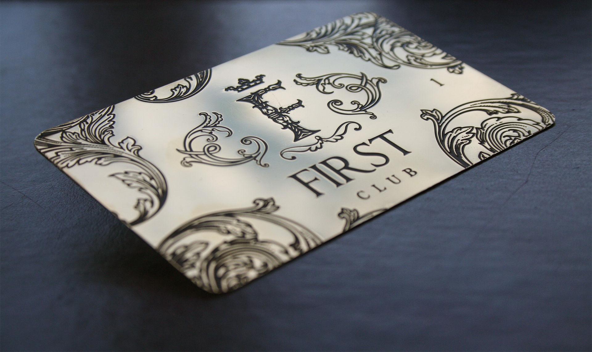 Дизайн of the corporate identity элитного of the restaurant