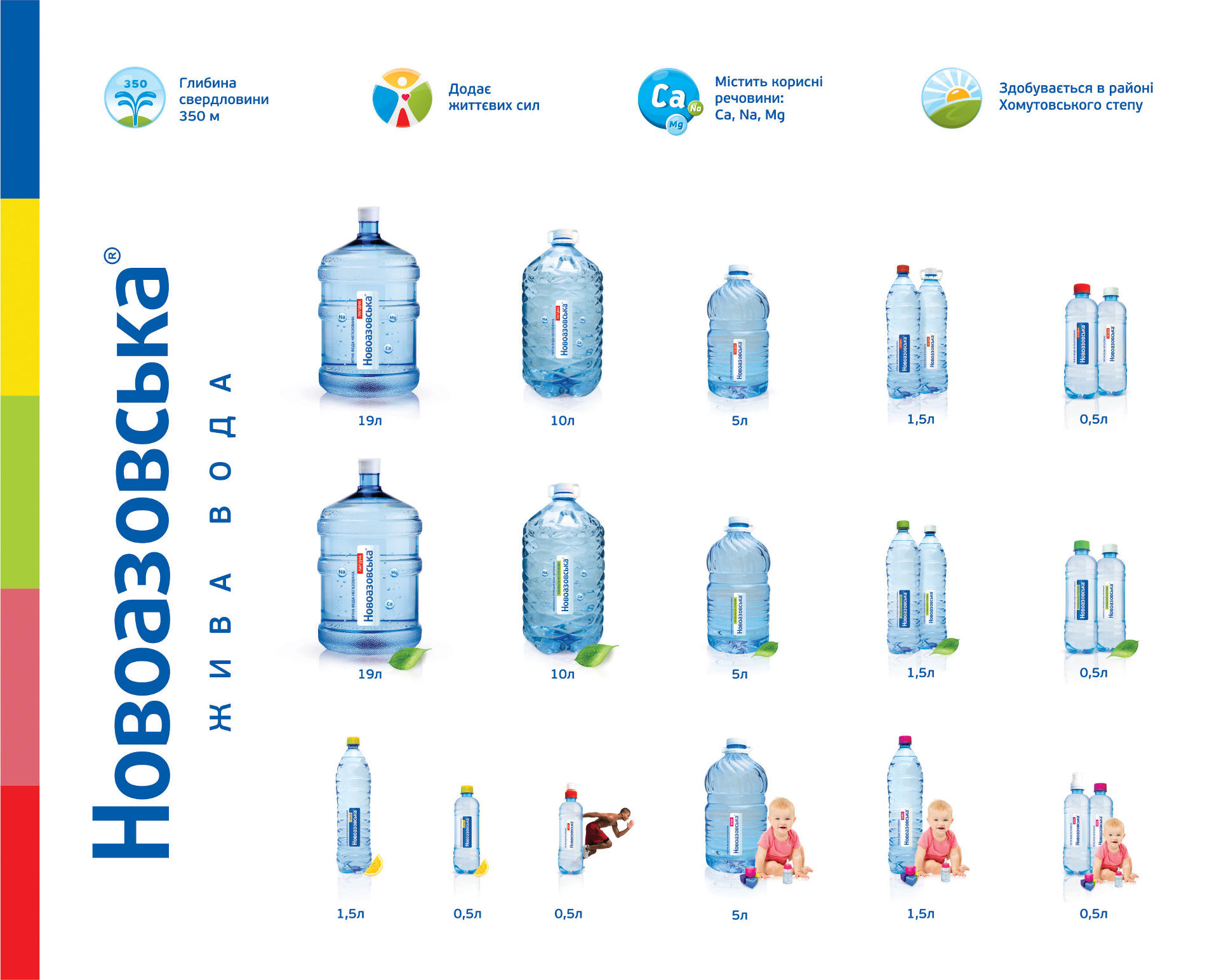 Создание этикетки для воды, Water label design
