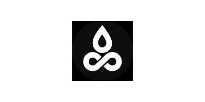 Logo Design для воды в стиле минимализм