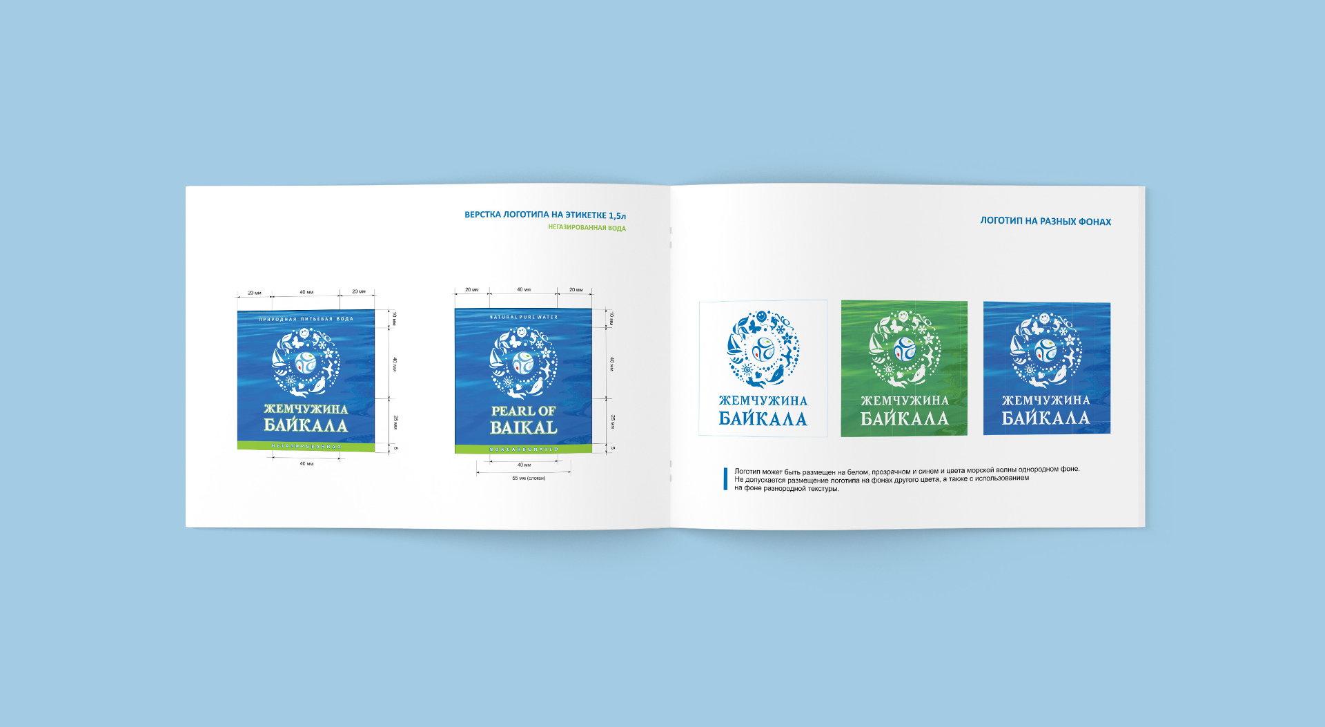 brand book минеральной воды