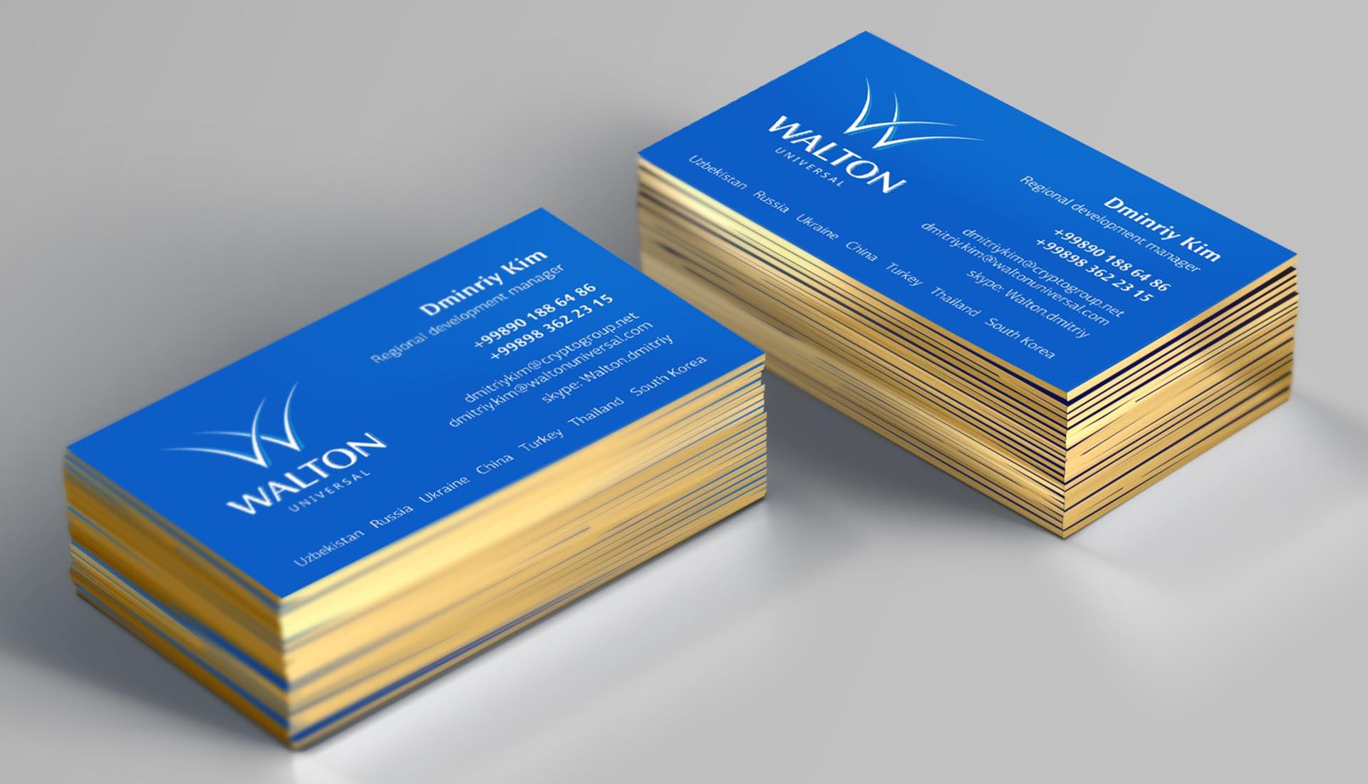 design визиток