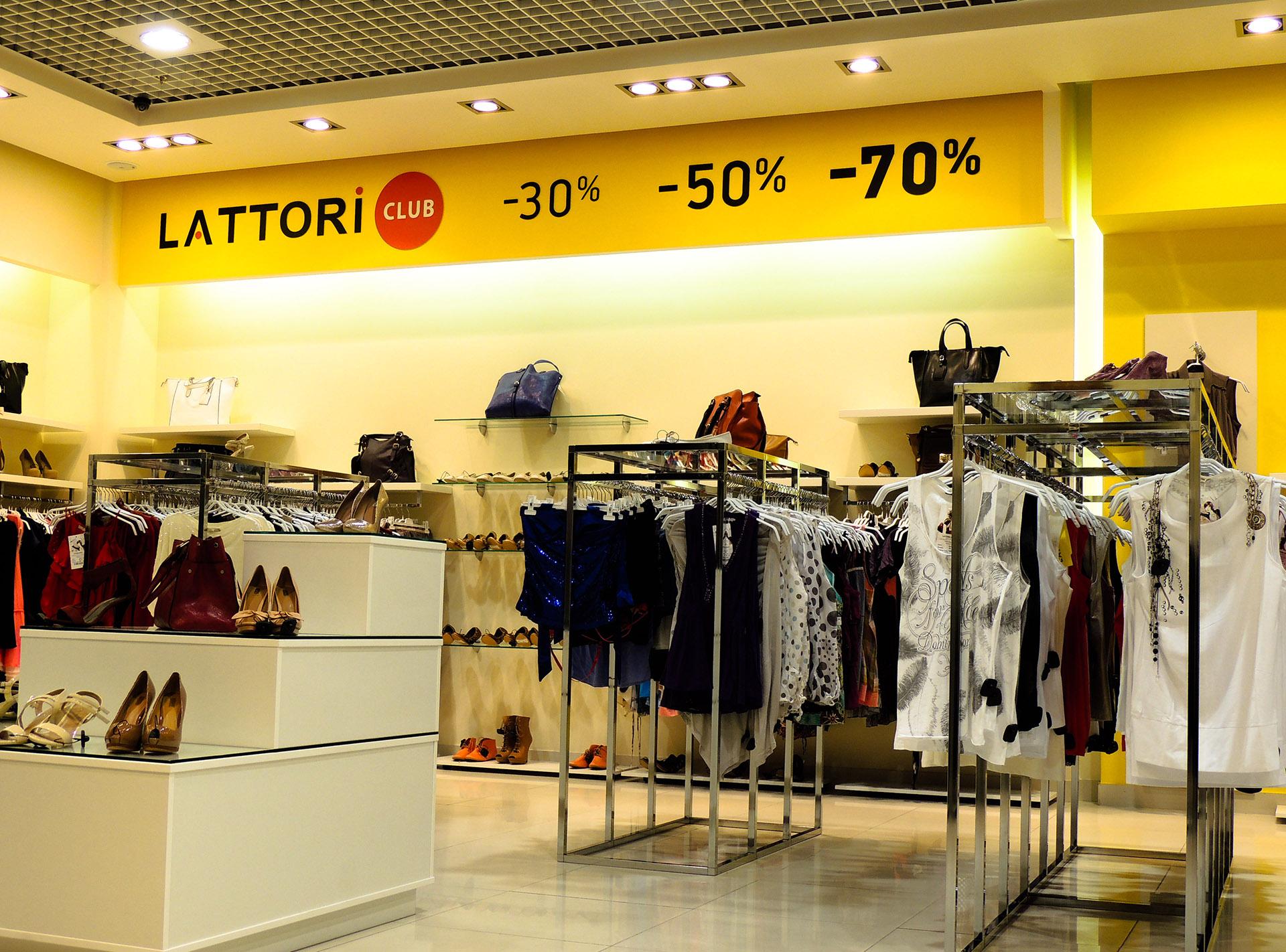 Сorporate identity магазина clothes