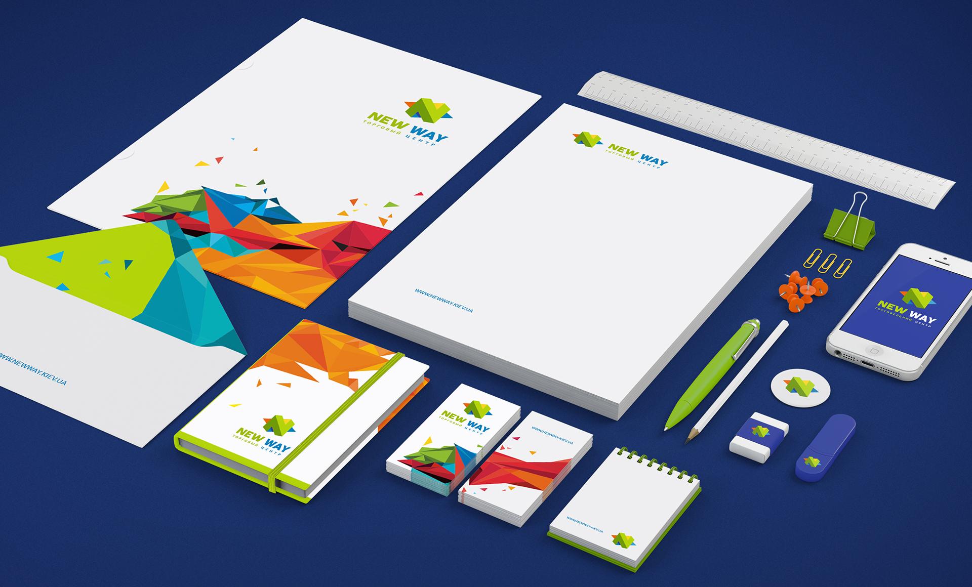 corporate identity ТЦ design